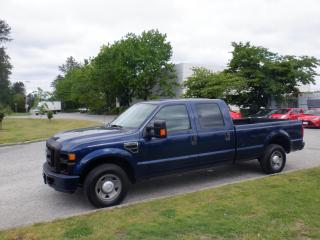 Used 2008 Ford F-250 SD XL Crew Cab 2WD 8 foot Box for sale in Burnaby, BC