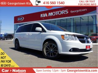 Used 2017 Dodge Grand Caravan SXT Premium Plus | ONLY 39,345KM | NAVI | BU CAM for sale in Georgetown, ON