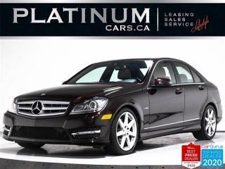 Used 2012 Mercedes-Benz C-Class C350 4MATIC,NAV,CAM,PANO,BLIND SPOT,HARMAN KARDON for sale in Toronto, ON
