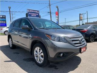 Used 2014 Honda CR-V EX | Sunroof, Heated Seats, Bluetooth, Backup Cam for sale in Caledonia, ON