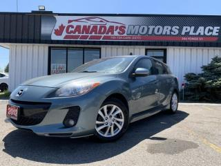 Used 2012 Mazda MAZDA3 I TOURING | LEATHER | SUNROOF | BLUETOOTH | 2 SET for sale in Barrie, ON