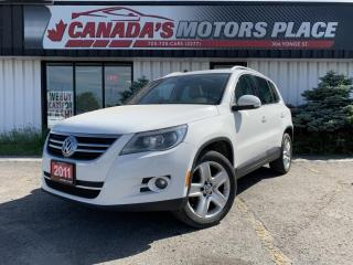 Used 2011 Volkswagen Tiguan NO ACCIDENTS | AWD | NAVI | TOUCH SCREEN | SUN/MOO for sale in Barrie, ON