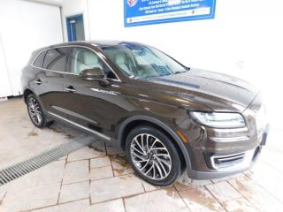 Used 2019 Lincoln Nautilus Reserve LEATHER NAVI SUNROOF for sale in Listowel, ON