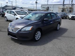 Used 2015 Nissan Sentra Berline 4 portes, boîte manuelle, S for sale in Beauport, QC