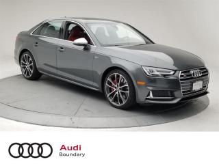 Used 2018 Audi S4 3.0T Technik quattro 8sp Tiptronic (SOO) No Accidents | Dealer Serviced for sale in Burnaby, BC
