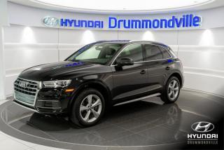 Used 2018 Audi Q5 PROGRESSIV + GARANTIE + NAVI + WOW!! for sale in Drummondville, QC