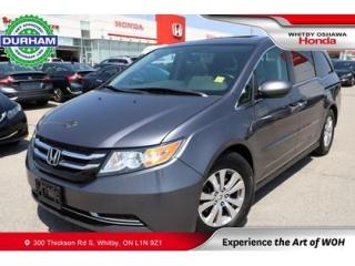Used 2016 Honda Odyssey w/Navigation for sale in Whitby, ON
