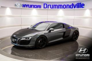 Used 2009 Audi R8 V8 + GARANTIE + MAGS + B&O + NAVI + CAM for sale in Drummondville, QC