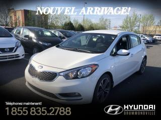 Used 2014 Kia Forte5 EX + TOIT + MAGS + CAMERA + WOW! for sale in Drummondville, QC