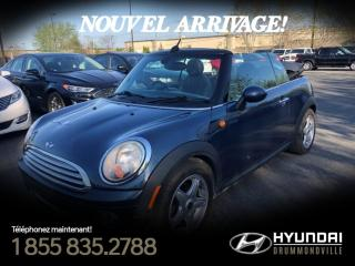 Used 2009 MINI Cooper CONVERTIBLE + GARANTIE + MAGS  + CUIR + for sale in Drummondville, QC