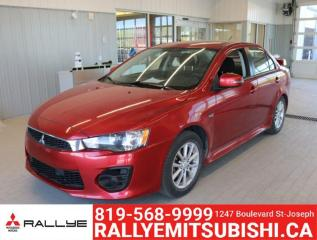 Used 2017 Mitsubishi Lancer AWC for sale in Gatineau, QC