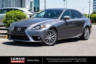 Used 2016 Lexus IS 300 **LUXURY** *NAVIGATION*ANGLE MORT*BANCS ELECTRIQUE*TOIT*CUIR*CAMERA DE RECUL*SONAR*ET ENCORE PLUS* for sale in Montréal, QC