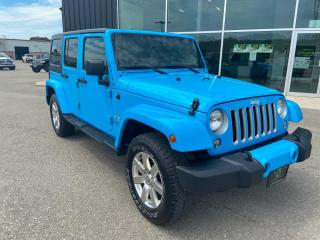 Used 2018 Jeep Wrangler JK Unlimited Sahara 4x4, One Owner for sale in Ingersoll, ON