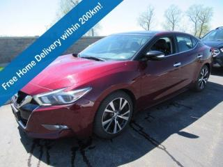 Used 2018 Nissan Maxima SL, Leather, Navigation, Panoramic Sunroof, Intelligent Cruise, Blind Spot Monitor, Bose Audio! for sale in Guelph, ON