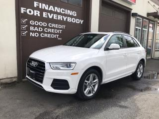Used 2016 Audi Q3 Komfort for sale in Abbotsford, BC