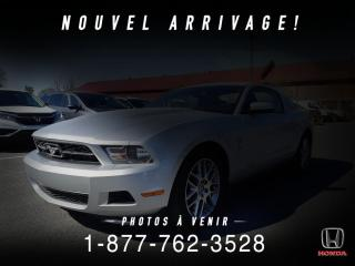 Used 2012 Ford Mustang COUPE + CUIR + V6 + BAS KILOS + WOW! for sale in St-Basile-le-Grand, QC