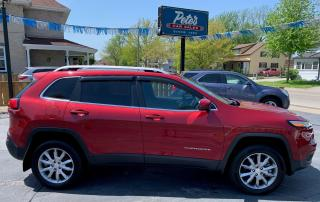 Used 2017 Jeep Cherokee Limited for sale in Dunnville, ON
