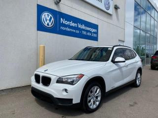 Used 2014 BMW X1 LEATHER / SUNROOF / LOADED for sale in Edmonton, AB