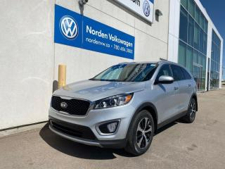 Used 2016 Kia Sorento 3.3L EX+ AWD - 7 PASS / LEATHER HEATED SEATS for sale in Edmonton, AB