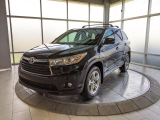 Used 2015 Toyota Highlander Limited - Accident Free Carfax! for sale in Edmonton, AB