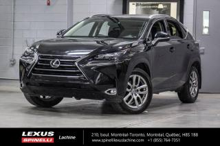 Used 2017 Lexus NX 200t LUXURY AWD; CUIR TOIT GPS ANGLES MORT MAGS NAVIGATION - MONITEUR ANGLES MORT - SONAR DE STATIONNEMENT - MAGS 18'' for sale in Lachine, QC