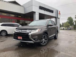 Used 2016 Mitsubishi Outlander ES TOURING PKG for sale in North Bay, ON
