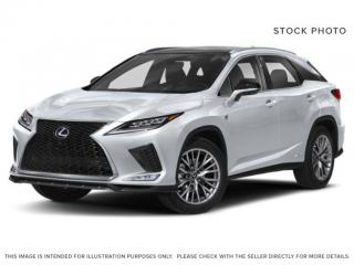 New 2020 Lexus RX 450h F SPORT SERIES 3 for sale in Edmonton, AB