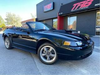 Used 2002 Ford Mustang GT   CONVERTIBLE   LOW KM   INCOMING for sale in Vaughan, ON