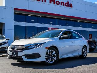 Used 2016 Honda Civic LX|NO ACCIDENTS|SERVICE HISTORY ON FILE for sale in Burlington, ON