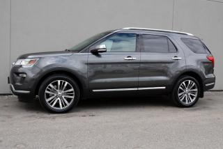 Used 2018 Ford Explorer Platinum EcoBoost 4WD for sale in Vancouver, BC