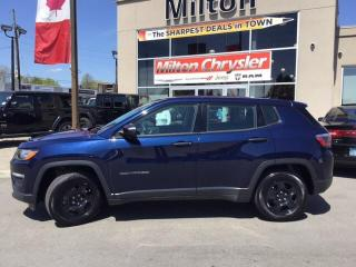 Used 2018 Jeep Compass Sport for sale in Milton, ON