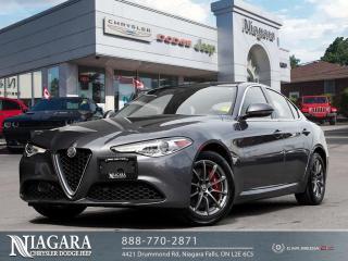Used 2018 Alfa Romeo Giulia Base for sale in Niagara Falls, ON
