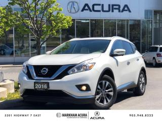 Used 2016 Nissan Murano SL AWD CVT for sale in Markham, ON