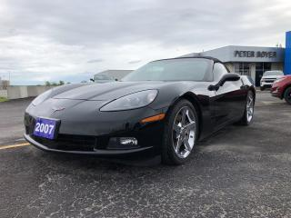 Used 2007 Chevrolet Corvette Convertible for sale in Napanee, ON