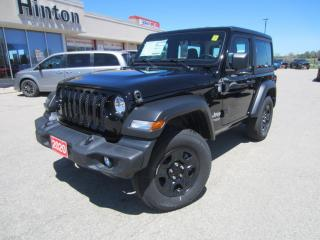 New 2020 Jeep Wrangler SPORT for sale in Perth, ON
