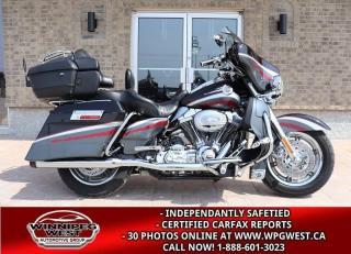 Used 2006 Harley-Davidson Flhtcse Screamin Eagle CVO ULTRA CLASSIC, BIG POWER, BIGGER LOOKS, RARE ! for sale in Headingley, MB