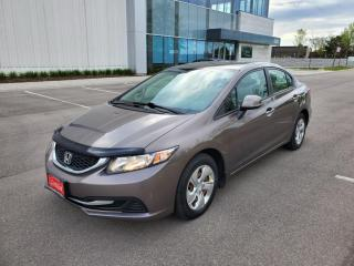 Used 2013 Honda Civic 4dr Auto LX for sale in Mississauga, ON