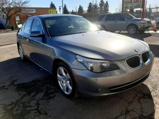 Used 2008 BMW 5 Series 4dr Sdn 535xi AWD for sale in Calgary, AB