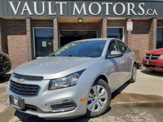 Used 2015 Chevrolet Cruze 4dr Sdn 2LS NO ACCIDENTS! for sale in Brampton, ON