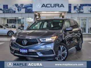 Used 2019 Acura MDX Tech, Company Demo, Remote Starter, Heated streeli for sale in Maple, ON