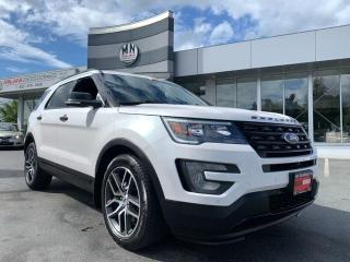 Used 2017 Ford Explorer SPORT 4WD ECOBOOST NAVI SUNROOF 7-PASSANGER 56KM for sale in Langley, BC