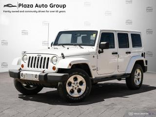 Used 2013 Jeep Wrangler Unlimited Sahara | GREAT VALUE | 7 DAY EXCHANGE for sale in Orillia, ON