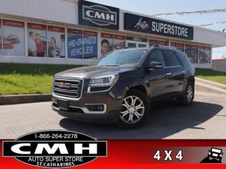 Used 2015 GMC Acadia SLT1  AWD LEATH P/SEATS CAM P/GATE 7-PASS for sale in St. Catharines, ON