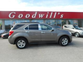 Used 2011 Chevrolet Equinox 2LT! HEATED LEATHER! REMOTE START! BACKUP CAM! for sale in Aylmer, ON