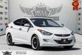 Used 2013 Hyundai Elantra Limited w/Navi, LEATHER, REAR CAM, SUNROOF for sale in Toronto, ON