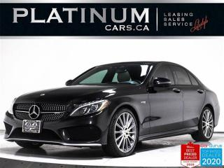 Used 2018 Mercedes-Benz C-Class AMG C43,AMG,NAV,360 CAM,DYNAMIC SELECT,BLINDSPOT for sale in Toronto, ON