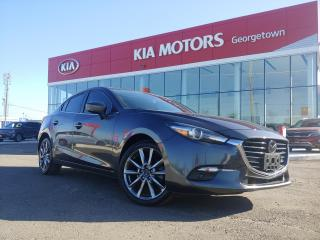 Used 2018 Mazda MAZDA3 GT | LTHR| ROOF| HUD | TINTS | BOSE| NAVI | 23K KM for sale in Georgetown, ON