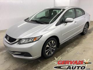 Used 2014 Honda Civic EX MAGS TOIT CAMÉRA BLUETOOTH SIÈGES CHAUFFANTS for sale in Trois-Rivières, QC