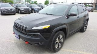 Used 2016 Jeep Cherokee Trailhawk for sale in New Hamburg, ON