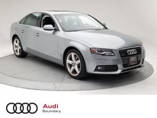 Used 2011 Audi A4 2.0T Prem Plus Tiptronic qtro Sdn for sale in Burnaby, BC